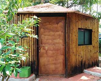 Woodstock Village Bamboo Cottages GOA