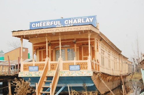 Cheerful Charley Houseboat