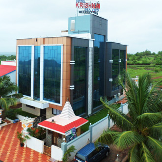 Hotel Krishna Sea View in Ganpatipule