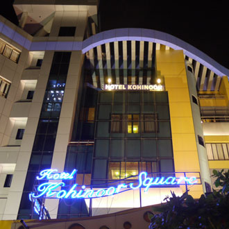 Hotel Kohinoor Square in Kolhapur