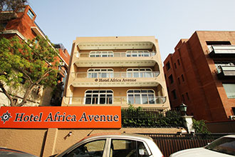 Hotel Africa Avenue Anand Lok