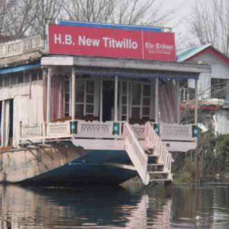New Titwillo Houseboat