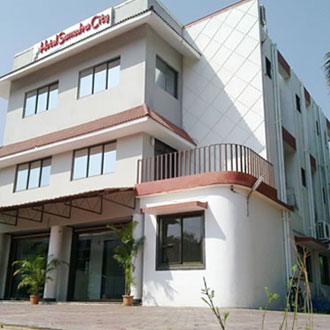 Hotel Samudra City in Alibaug