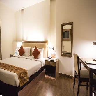 Hotel Cross Roads, Gurgaon, Sector 15, Deluxe Single Room - Intech Generic