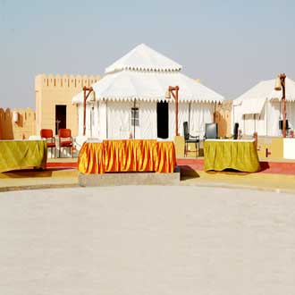 Chokhi Dhani desert Camp resort